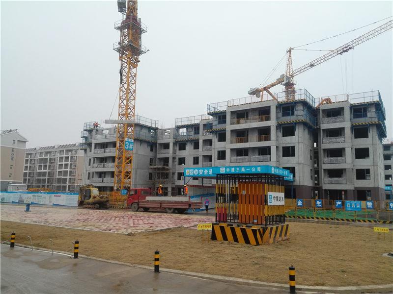中建科技武汉公司深港新城项目装配式辅材供应