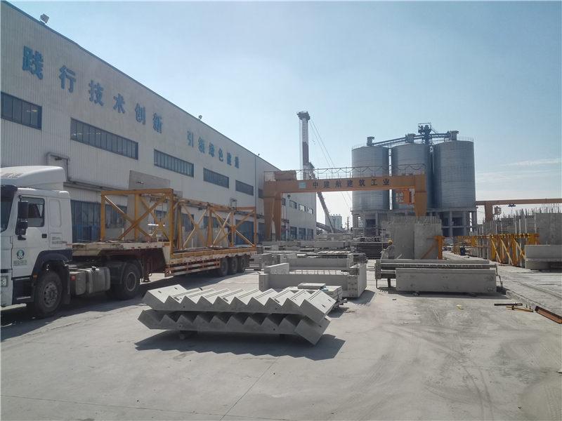 中建航预制构件厂装配式辅材供应
